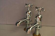 Bain Robinets SUPERBE chrome salle de bains robinets new old stock des robinets de baignoire