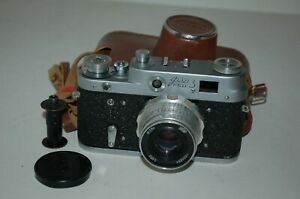 FED 3 (type 1) Vintage 1964 Soviet Rangefinder Camera And Case. 4413924. UK Sale