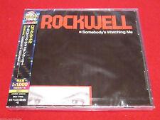 ROCKWELL - SOMEBODY'S WATCHING ME - JAPAN CD - UICY-77045 - OOP MICHAEL JACKSON