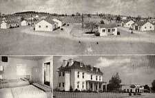 VERONA VA White House Cottages Views postcard