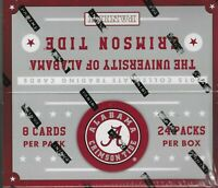 2015 Panini Alabama Crimson Tide Multi-Sport 24 pack Hobby Box Factory Sealed