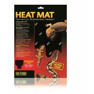Exo Terra Heat Mat 16W Ultra Thin Medium Terrarium Substrate Heater 26.5 X 28 cm