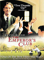 The Emperor's Club DVD Kevin Kline NEW