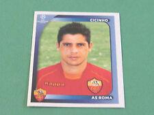 458 CICINHO AS ROMA UEFA PANINI FOOTBALL CHAMPIONS LEAGUE 2008 2009