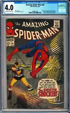 Amazing Spider-Man #46 CGC 4.0 Origin & 1st app. of the Shocker!KEY ISSUE!L@@K!