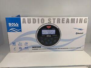 BOSS Audio Systems MGR350B Marine Gauge Receiver - Bluetooth, Digital Media M...