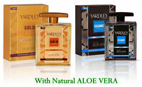YARDLEY LONDON After Shave Lotion With Aloe Vera{Gold, Elegance} 50ml & 100ml