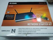 D-Link DKT-408 N300 108 Mbps 4-Port 10/100 Wireless N DSL Router DIR-615 USB Kit