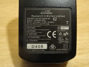Blackberry Charger PSM05R-050 Part No: ASY-04078-001Genuine NEW Official