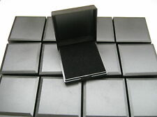 25 BLACK HINGED GIFT BOXES FOR PENDANTS, EARRINGS, NECKLACES, ECT DISPLAY