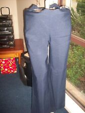 PEA IN A POD MATERNITY  MID BELLY STRAIGHT LEG PANTS NAVY OR BROWN