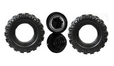 Power Wheels N2273 Jeep Hurricane Rust Replacement Wheel- 2 Pack
