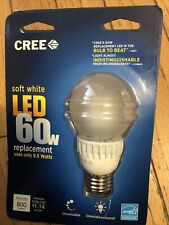 Cree Led 9.5W Daylight Dimmable Replacement 60 Watt Equivalent Light Bulb