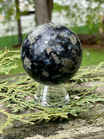 194.8g UNIQUE Que Sera Stone Crystal Polished Healing Sphere  BRAZIL  Reiki