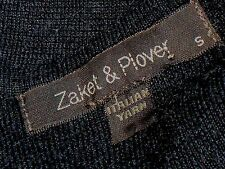 ZAKET & PLOVER Sleeveless50%ItalianMerinoBlendYarn SizeS