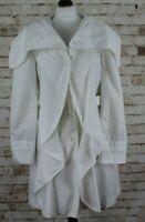 ARMANI JEANS White Coat size Eu 40