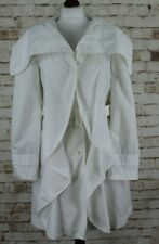 ARMANI JEANS blanco abrigo talla EU 40