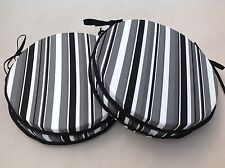 Striped Round Contemporary Decorative Cushions