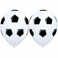 Qualatex Football Soccer Latex balloons 11 inch Birthday Party Event Decoration