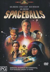 Spaceballs DVD Like New R4 Mel Brooks John Candy Rick Moranis