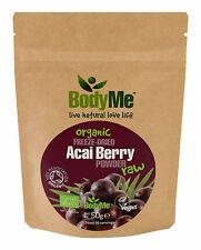 Bodyme Organic Acai Berry En Polvo 50 G liofilizado (Soil Association Certified)