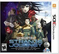 Shin Megami Tensei: Strange Journey Redux [Nintendo 3DS Atlus RPG Demons] NEW
