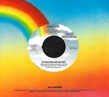 "ELTON JOHN KIKI DEE ERIC CLAPTON ""TRUE LOVE/Runaway Train"" MCA 54762 (1993) 45"