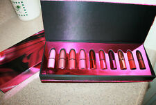 MAC Shiny Pretty Things Holiday Mini Lipsticks 10 Shades Set Matte Satin Retro