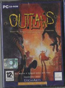 PC Outlaws Lucasarts Classics Western Pc Cd Rom Nuovo Sigillato ITALIANO