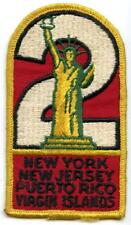 Boy Scout BSA Region 2 Patch #2 New York New Jersey Puerto Rico Virgin Islands