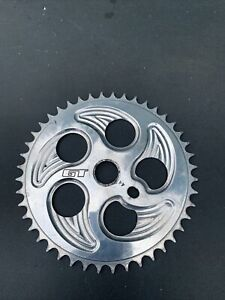 GT Speed Series Overdrive Polished Sprocket 44t Old School BMX Chainring