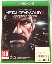 METAL GEAR SOLID V GROUND ZEROES Neuf sous blister Jeu XBOX ONE