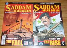 Dictators of the Twentieth Century: Saddam Hussein #1-2 VF/NM complete series