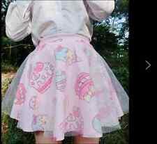 Harajuku LOLITA Skirt COS Underskirt Mesh Layer Dance Petticoat PUFFY Skirts