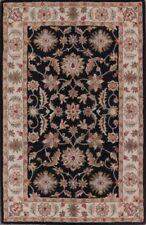 Alfombras rectangulares color principal negro 100% lana