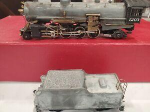 BRASS HO Scale Model Railroad Locomotive 2-8-2