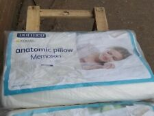 2 Dormeo Anatomic memosan pillows 2x memory foam pillows