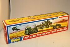 Dinky Toys 618 AEC Artic transporter empty near mint original complete box