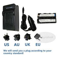 BATTERIA + Caricabatteria per Sony HVR-Z1 NP-F550 NP-F330 CCD-TRV59E HDR-FX7 Camcorder