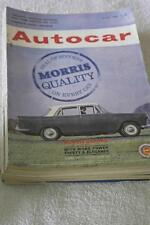 May Autocar Cars, 1960s Transportation Magazines
