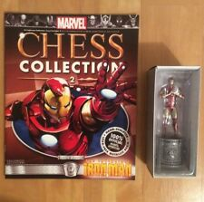 Marvel Comics Official Chess Collection Number 2 Iron Man Figure White Bishop