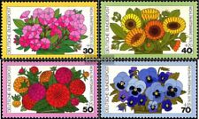 BRD (BR.Deutschland) 904-907 (kompl.Ausgabe) postfrisch 1976 Wohlfahrt: Blumen