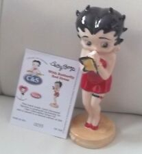 WADE BETTY BOOP  BUTTERFLY RED DRESS  FIGURINE LTD 500 GIFT NEW BOXED WITH CERT