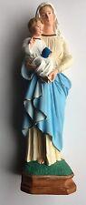Très Jolie Statue Religieuse En Plâtre ,a Voir