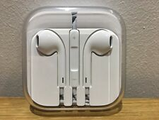 100% OFFICIAL/Genuine Apple Cuffie Earpods// Vivavoce Iphone 5,6,6s 6 Plus, SE