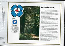 DOCUMENT CEF PREMIER JOUR  1978  TIMBRE   N° 1991 ILE DE FRANCE