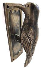 Antique Style Handcraft Brass made Woodpecker Bird designed DOOR KNOCKER Unusual