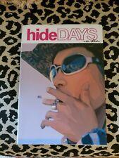 HIDE DAYS X Japan Photo Book Japanese