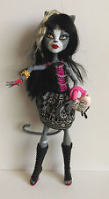 Monster High Doll - Purrsephone and free Monster High Photo Card x 3