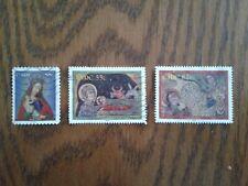 Complete Eire / Ireland used stamp set: 2009 Christmas